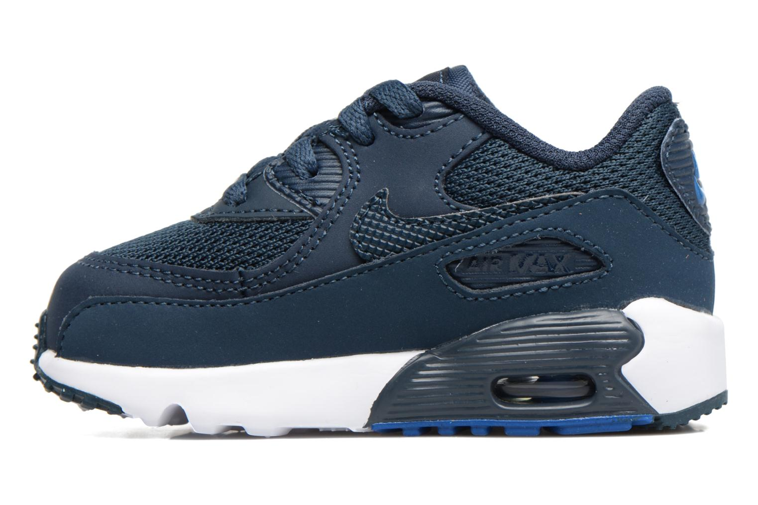 Trainers Nike NIKE AIR MAX 90 MESH (TD) Blue front view