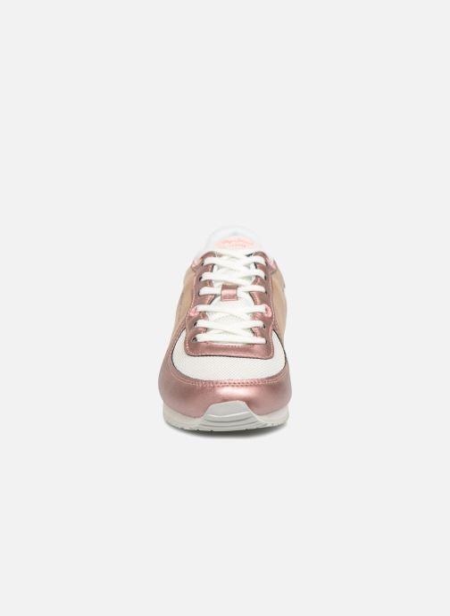 Baskets Pepe jeans Sydney Or et bronze vue portées chaussures