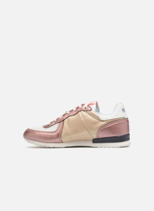 Sneakers Pepe jeans Sydney Goud en brons voorkant