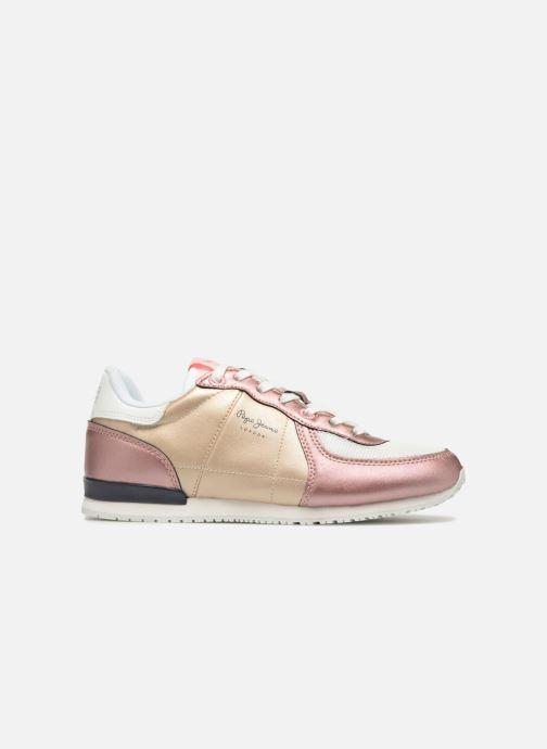 Sneakers Pepe jeans Sydney Goud en brons achterkant
