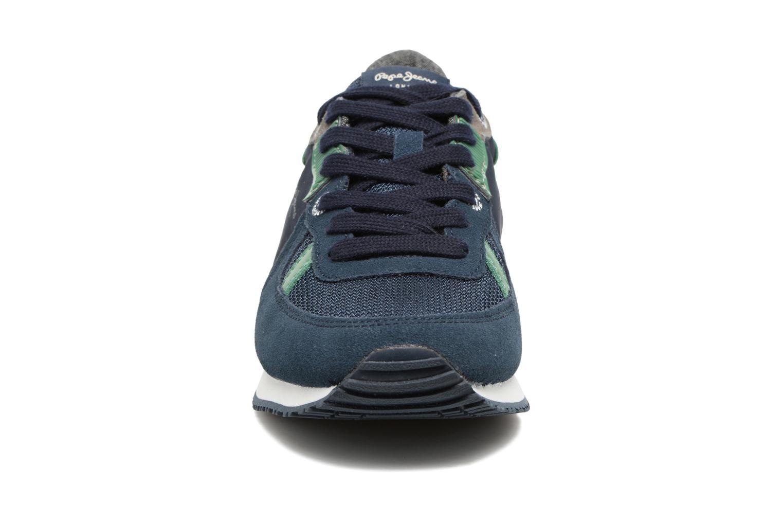 Baskets Pepe jeans Sydney Bleu vue portées chaussures
