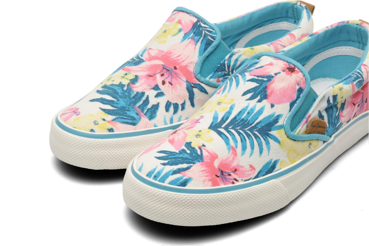 Trainers Pepe jeans Traveler Multicolor 3/4 view