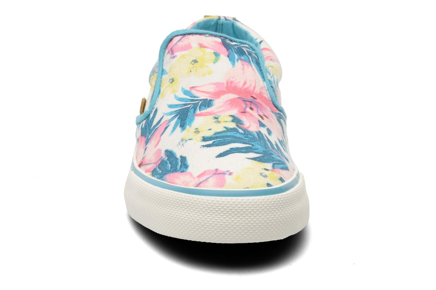 Trainers Pepe jeans Traveler Multicolor model view