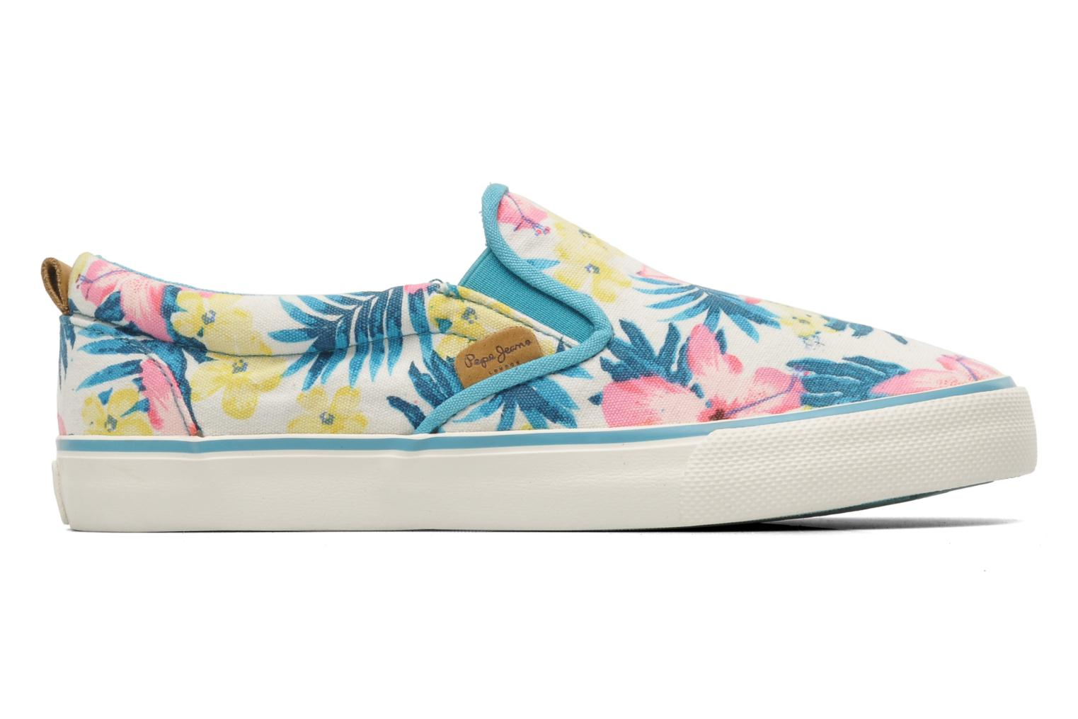 Trainers Pepe jeans Traveler Multicolor back view