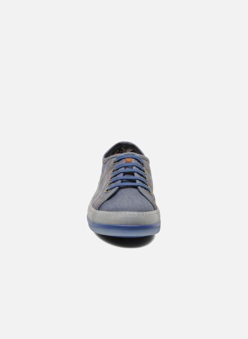 Baskets Art A955 Queen Bleu vue portées chaussures