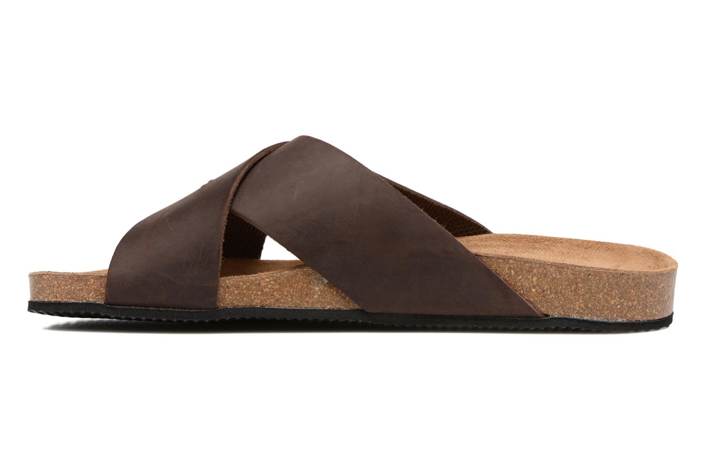 Sandali e scarpe aperte Rondinaud Trèfle Marrone immagine frontale