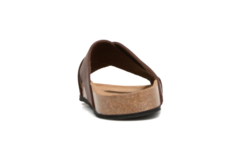 Sandali e scarpe aperte Rondinaud Trèfle Marrone immagine destra