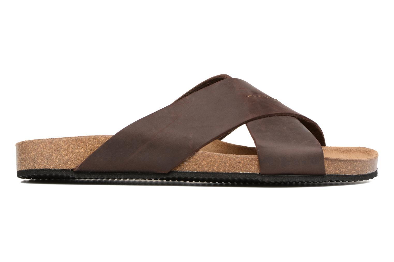 Sandali e scarpe aperte Rondinaud Trèfle Marrone immagine posteriore