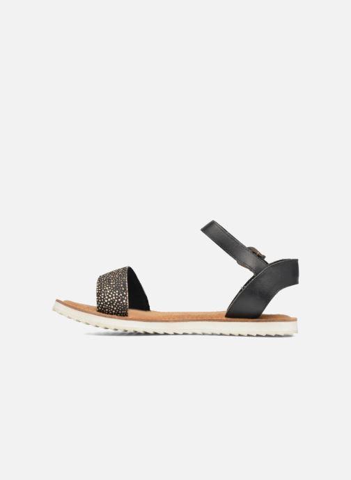 Sandales et nu-pieds Bronx Rubi Noir vue face