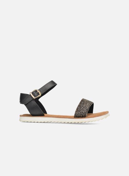 Sandales et nu-pieds Bronx Rubi Noir vue derrière