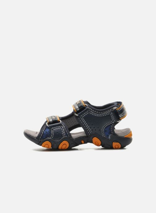 Sandali e scarpe aperte Geox B SAND.STRIKE A - MESH+DBK Azzurro immagine frontale