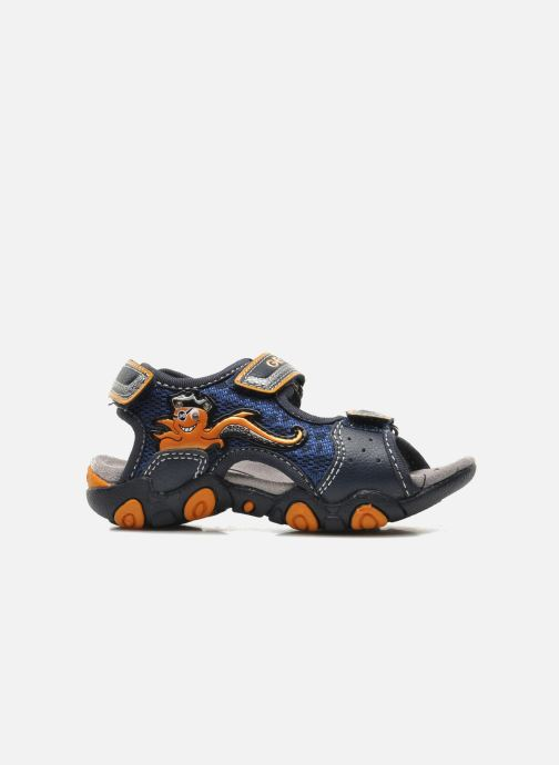 Sandali e scarpe aperte Geox B SAND.STRIKE A - MESH+DBK Azzurro immagine posteriore