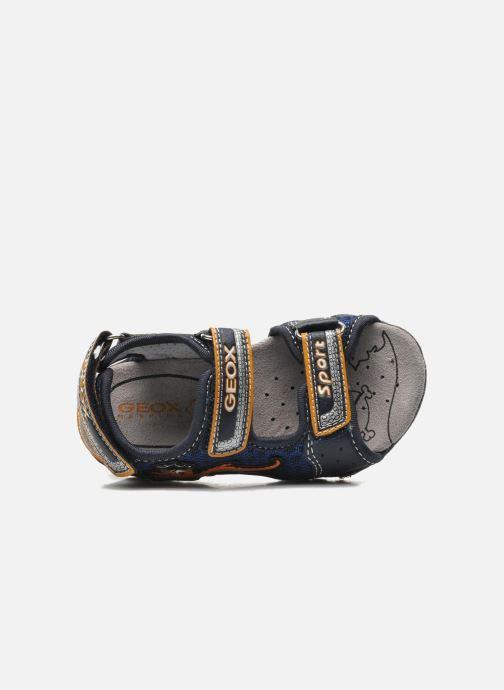 Sandali e scarpe aperte Geox B SAND.STRIKE A - MESH+DBK Azzurro immagine sinistra