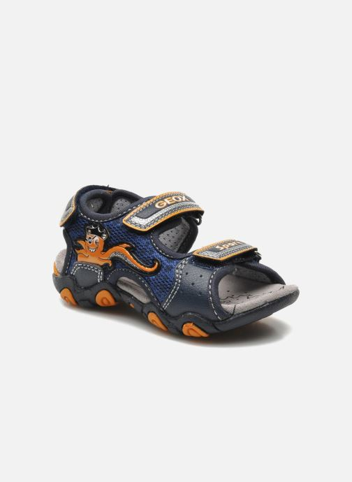 Sandali e scarpe aperte Geox B SAND.STRIKE A - MESH+DBK Azzurro vedi dettaglio/paio