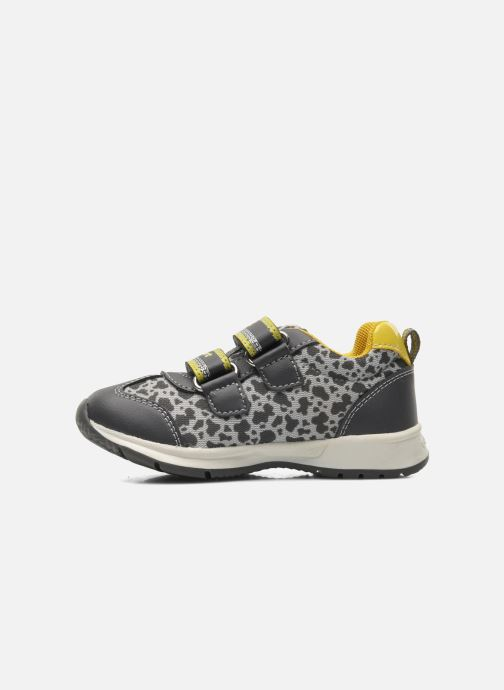Sneaker Geox B TEPPEI B. C - MESH+DBK grau ansicht von vorne