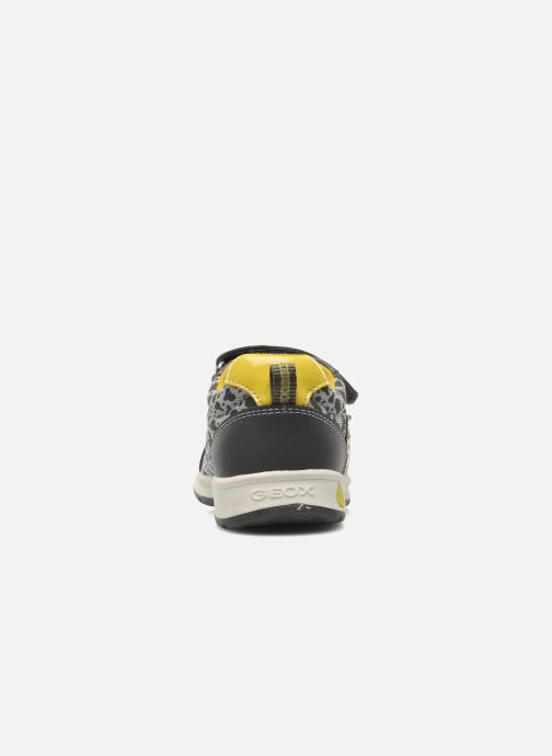 Sneakers Geox B TEPPEI B. C - MESH+DBK Grigio immagine destra