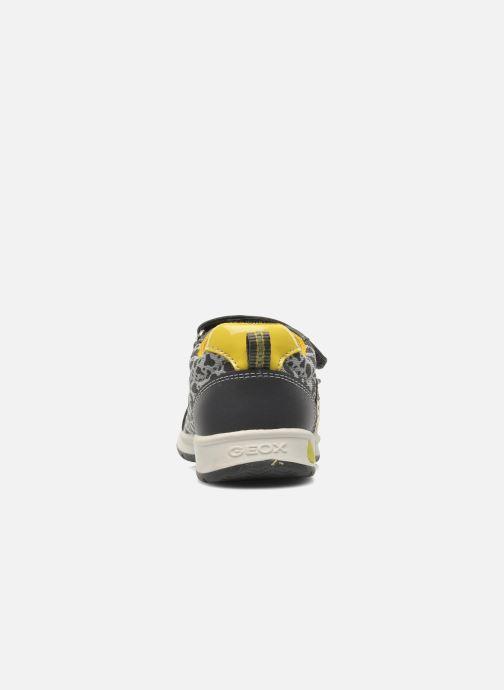 Sneaker Geox B TEPPEI B. C - MESH+DBK grau ansicht von rechts