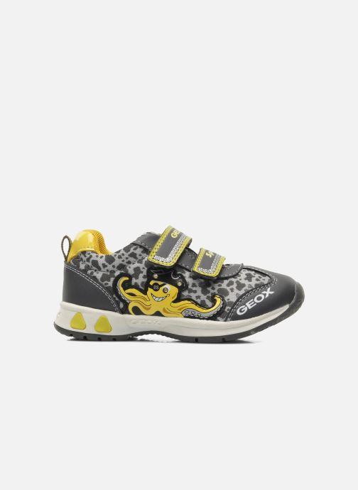 Sneaker Geox B TEPPEI B. C - MESH+DBK grau ansicht von hinten