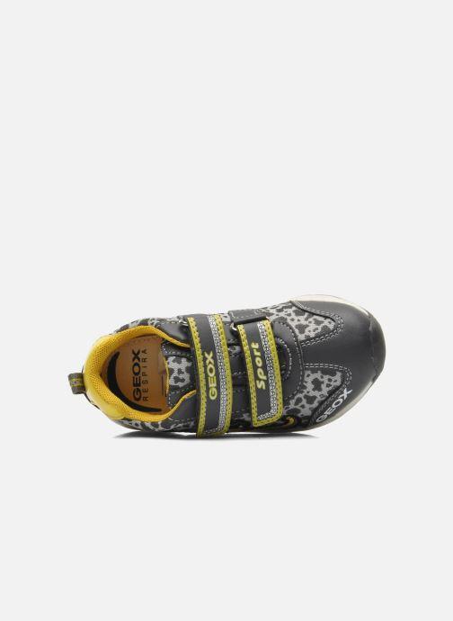 Sneaker Geox B TEPPEI B. C - MESH+DBK grau ansicht von links