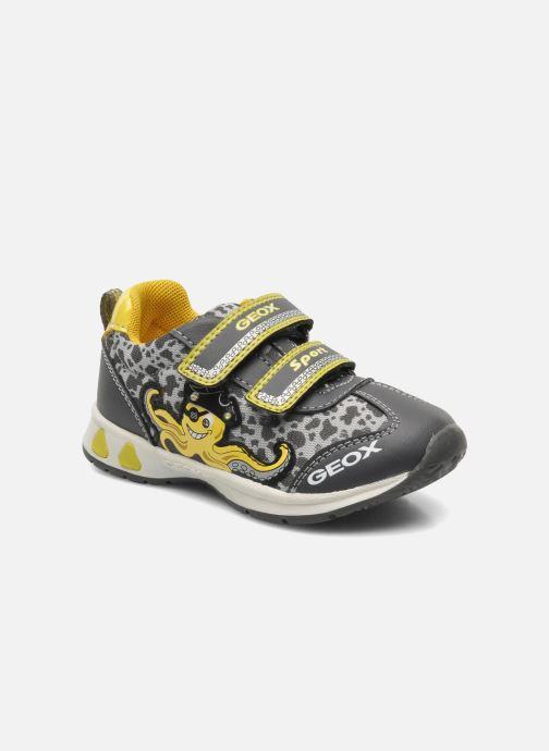 Sneaker Geox B TEPPEI B. C - MESH+DBK grau detaillierte ansicht/modell