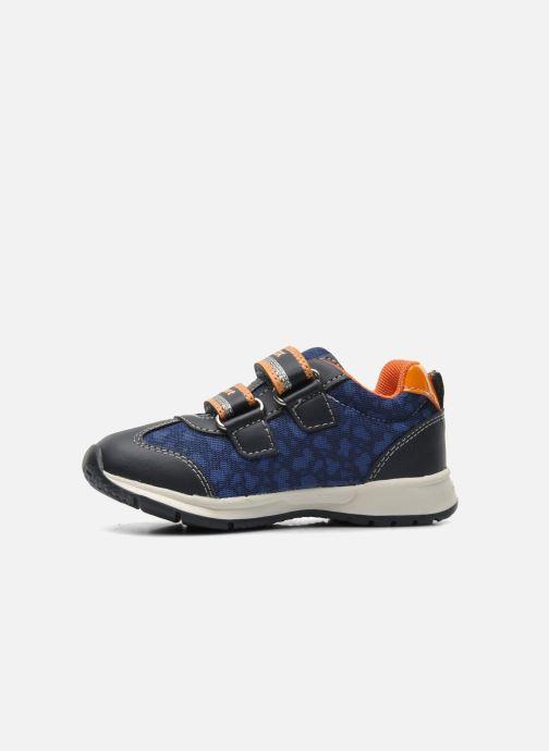 Sneakers Geox B TEPPEI B. C - MESH+DBK Azzurro immagine frontale
