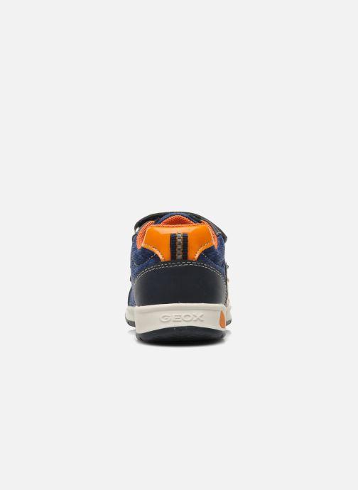 Sneakers Geox B TEPPEI B. C - MESH+DBK Azzurro immagine destra