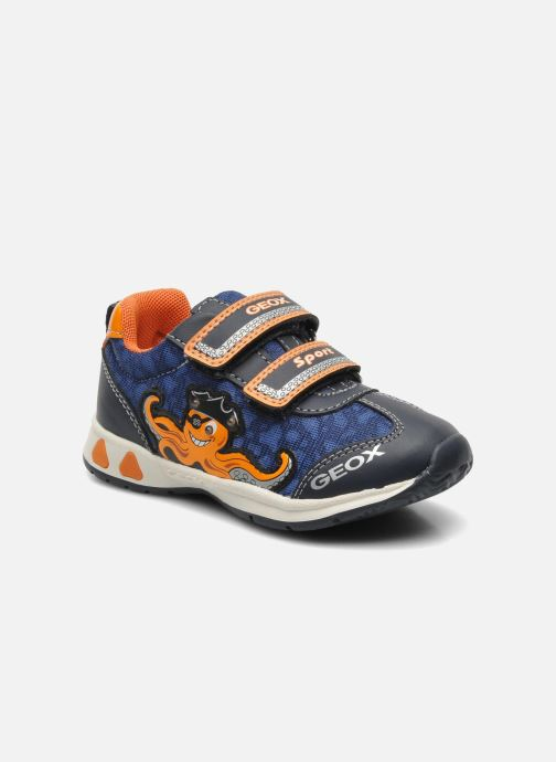 Sneakers Geox B TEPPEI B. C - MESH+DBK Blauw detail
