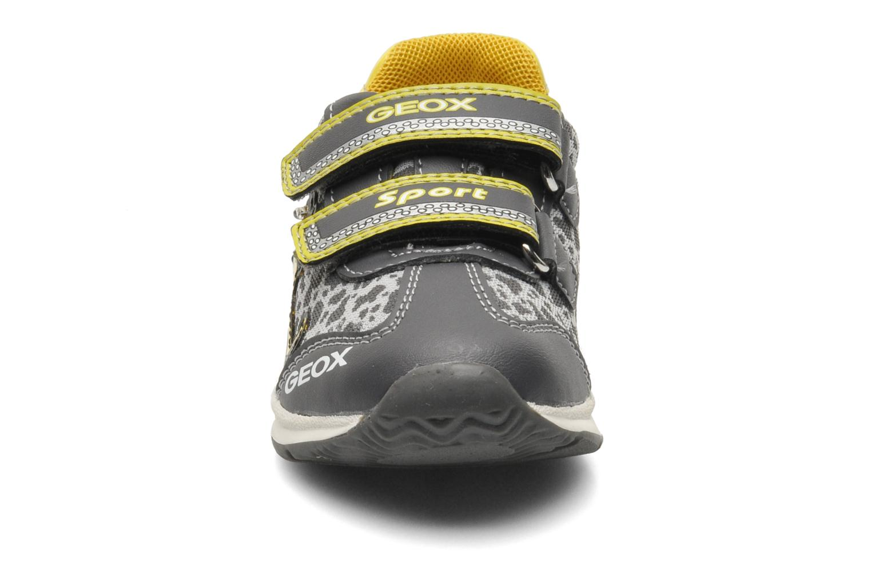 Baskets Geox B TEPPEI B. C - MESH+DBK Gris vue portées chaussures