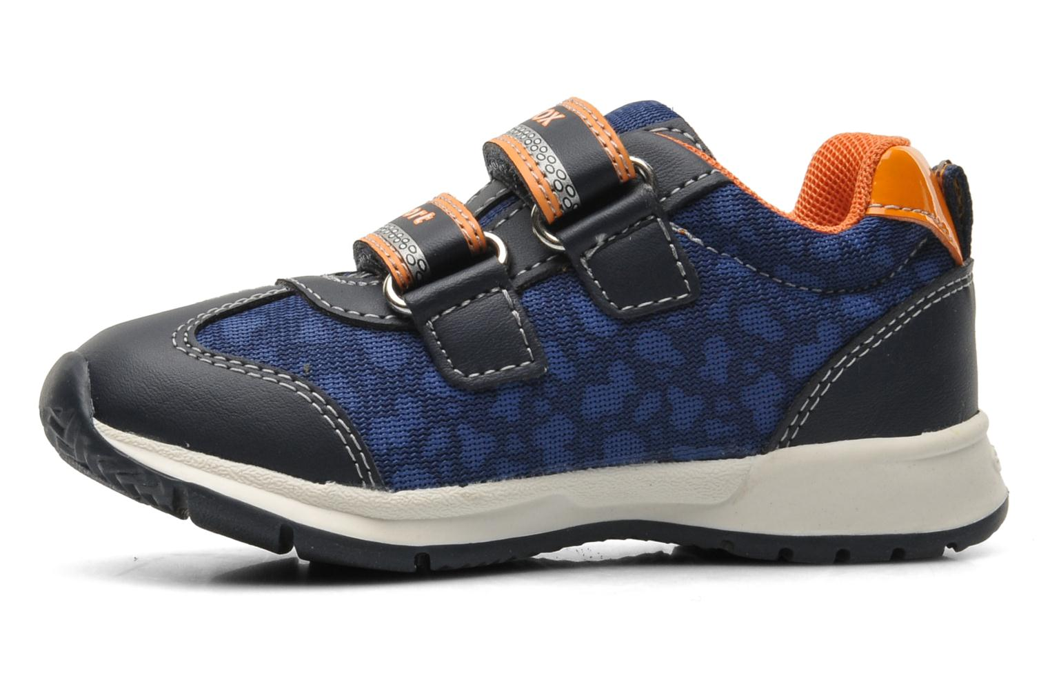 Trainers Geox B TEPPEI B. C - MESH+DBK Blue front view