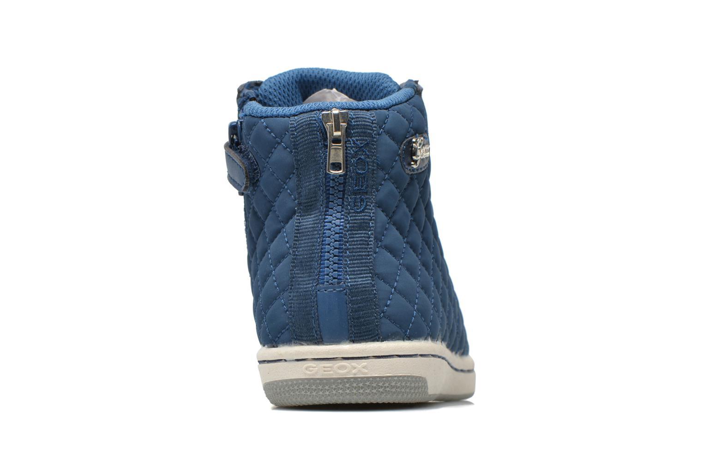Sneakers Geox J CREAMY A - NYLON+VERN.SINT. Azzurro immagine destra