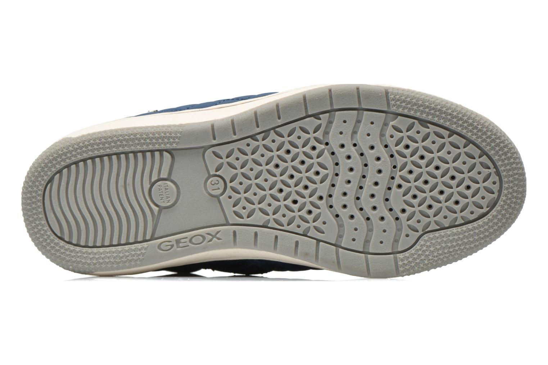 Sneakers Geox J CREAMY A - NYLON+VERN.SINT. Azzurro immagine dall'alto