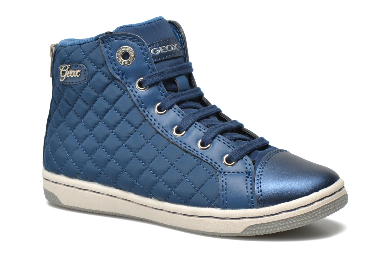 Sneakers Geox J CREAMY A - NYLON+VERN.SINT. Azzurro vedi dettaglio/paio