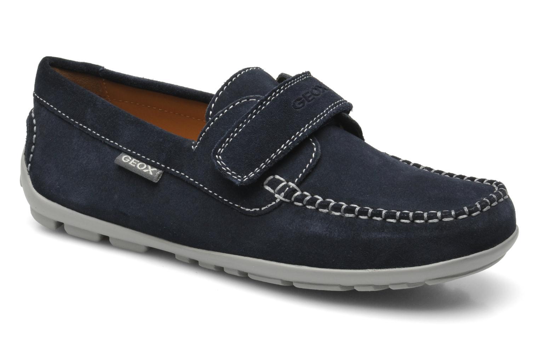 4fa0a4a50095e Geox J FAST A - SCAM. (Blue) - Velcro shoes chez Sarenza (219649)