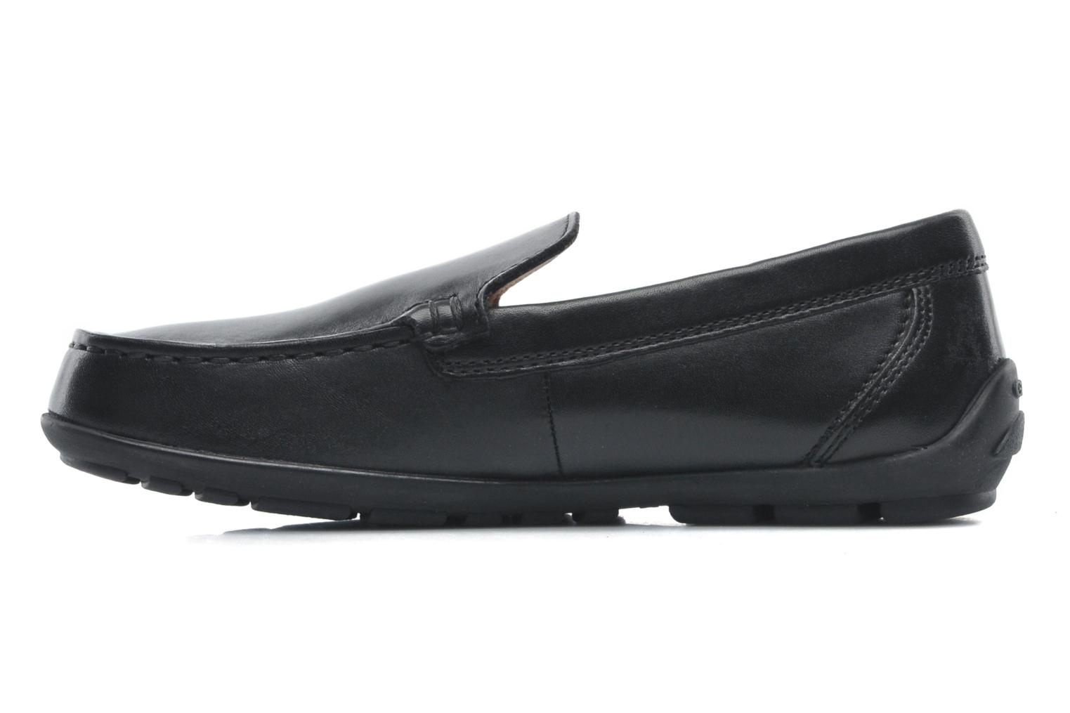 Loafers Geox J FAST A J11G5A Black front view