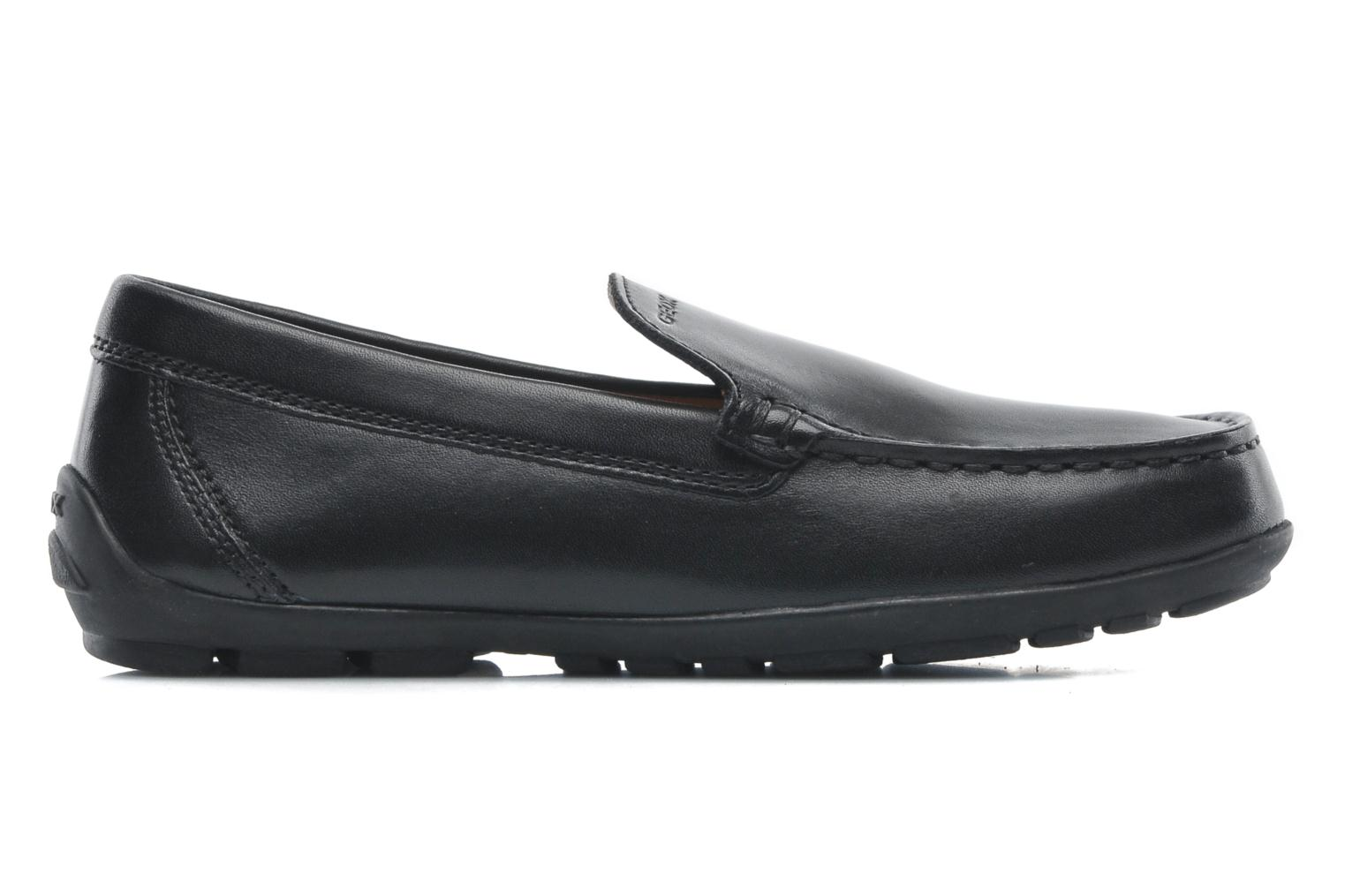 Loafers Geox J FAST A J11G5A Black back view