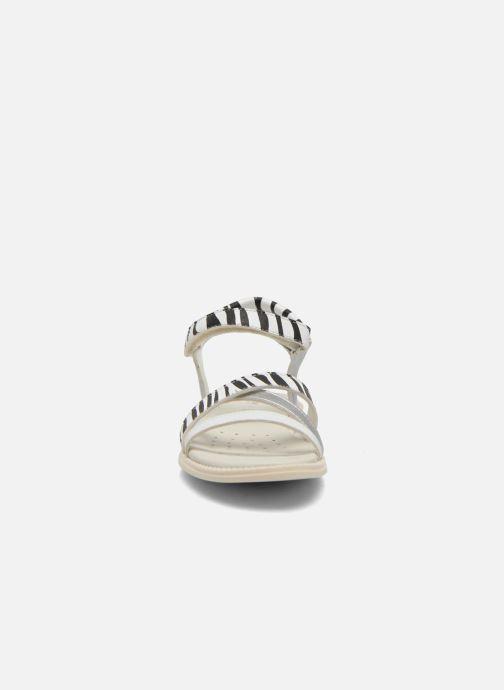 Sandales et nu-pieds Geox J S.Karly G.D  J5235D Noir vue portées chaussures