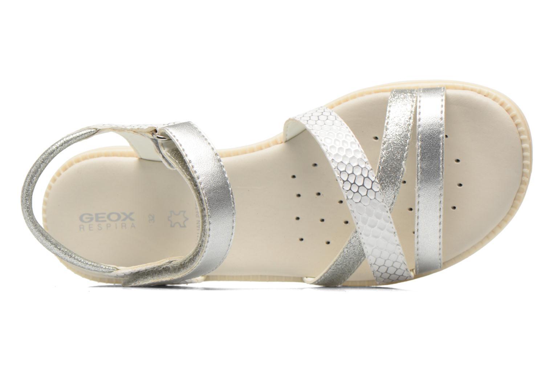 Sandales et nu-pieds Geox J S.Karly G.D  J5235D Blanc vue gauche