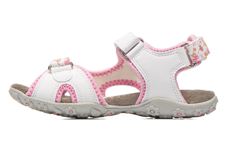 Sandales et nu-pieds Geox J S.Roxanne A J52D9A Blanc vue face
