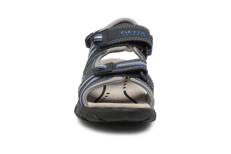 Sandali e scarpe aperte Geox J S.STRADA A J4224A Azzurro modello indossato