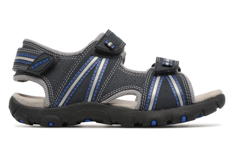 Sandali e scarpe aperte Geox J S.STRADA A J4224A Azzurro immagine posteriore