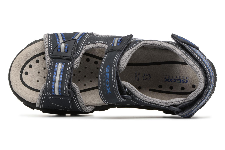 Sandali e scarpe aperte Geox J S.STRADA A J4224A Azzurro immagine sinistra