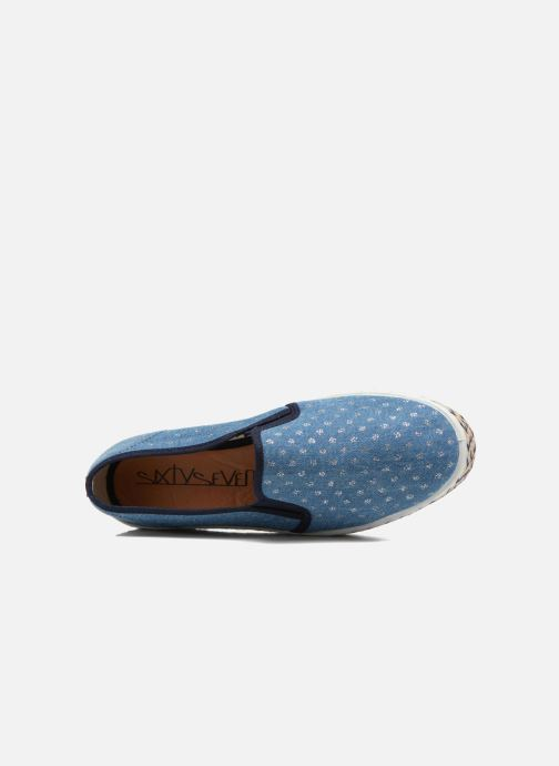 Espadrilles Sixty Seven Leah Blue view from the left