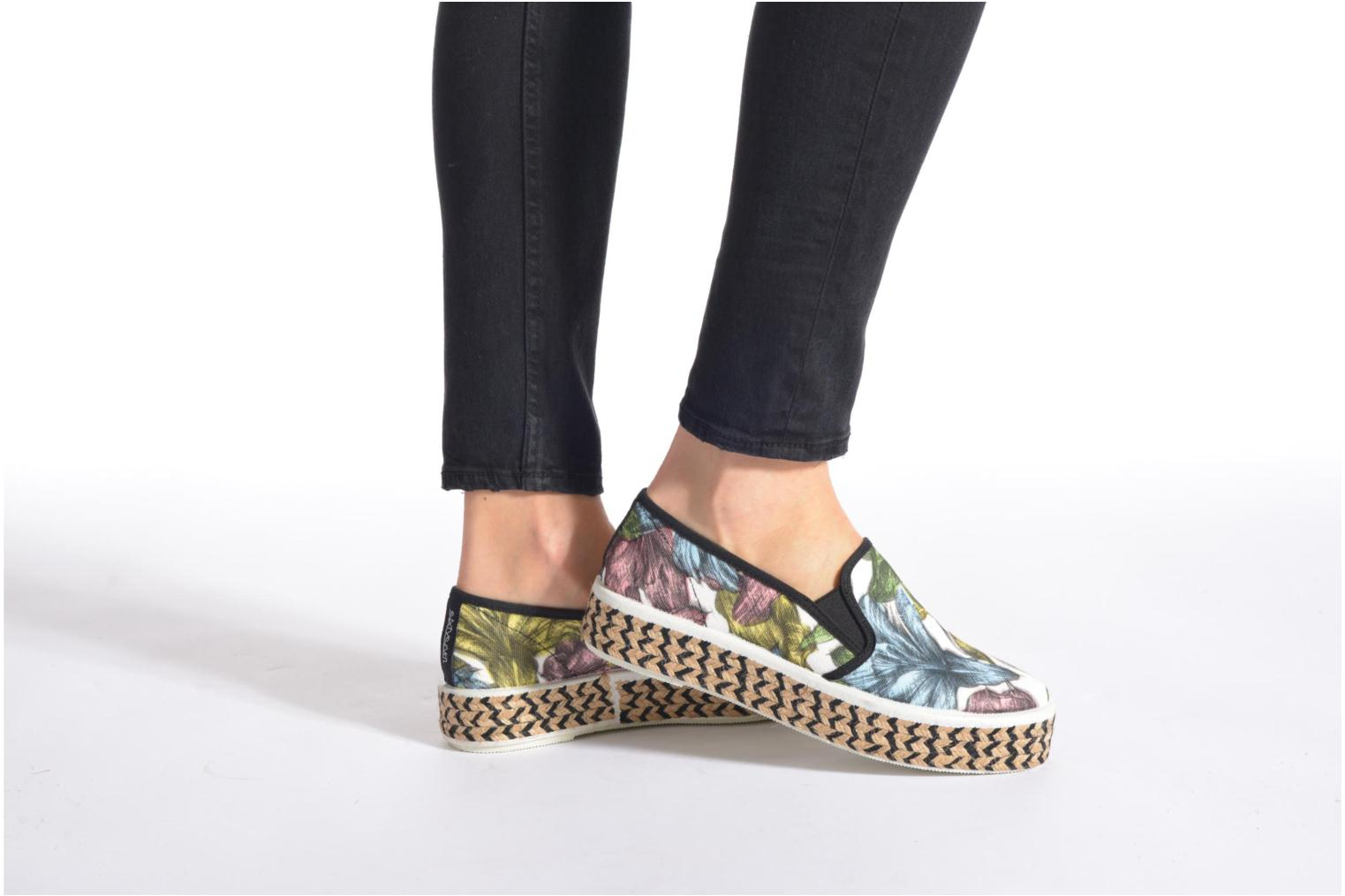 Espadrilles Sixty Seven Leah Multicolor view from underneath / model view