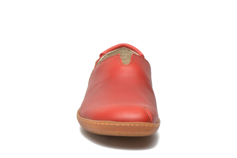 Mocassins El Naturalista El Viajero N275 W Rouge vue portées chaussures
