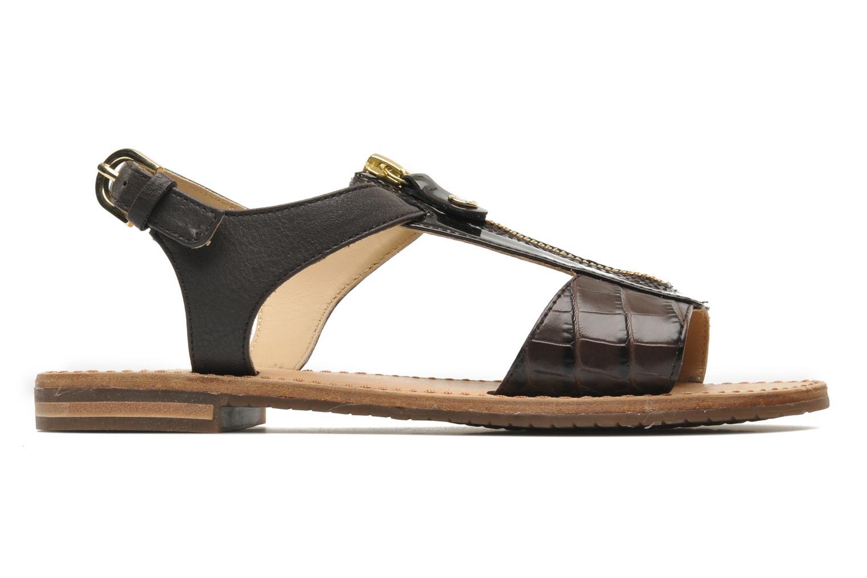 Sandales et nu-pieds Geox D JOLANDA K-D5275K Marron vue derrière