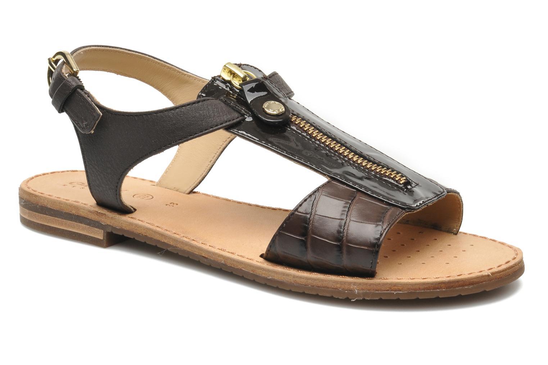 Sandales et nu-pieds Geox D JOLANDA K-D5275K Marron vue détail/paire