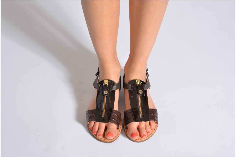 Sandali e scarpe aperte Geox D JOLANDA K-D5275K Beige immagine dal basso