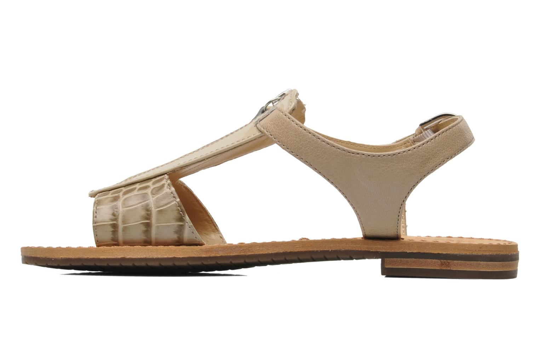Sandali e scarpe aperte Geox D JOLANDA K-D5275K Beige immagine frontale