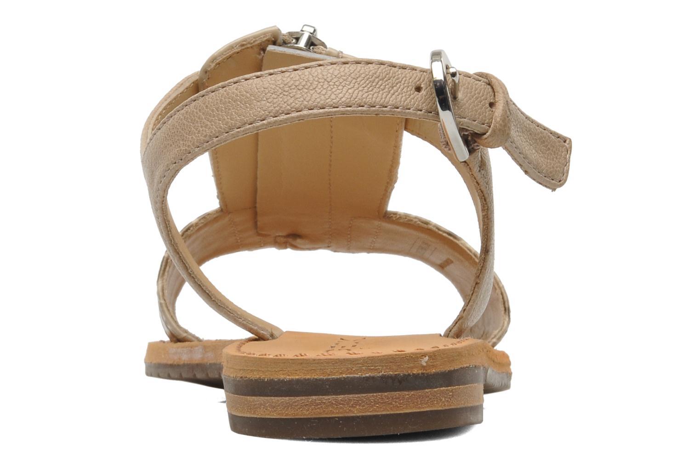 Sandali e scarpe aperte Geox D JOLANDA K-D5275K Beige immagine destra