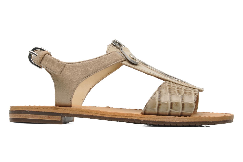 Sandali e scarpe aperte Geox D JOLANDA K-D5275K Beige immagine posteriore